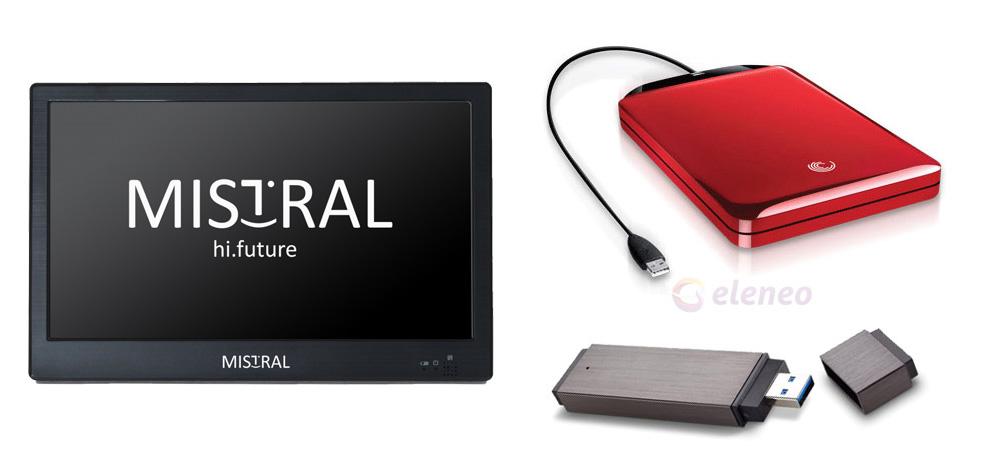 Telewizor Mistral 1011 10,1 cala z tunerem DVB-T MPEG4, idealny do domu, na kamping, działkę do kuchni lub sypialni
