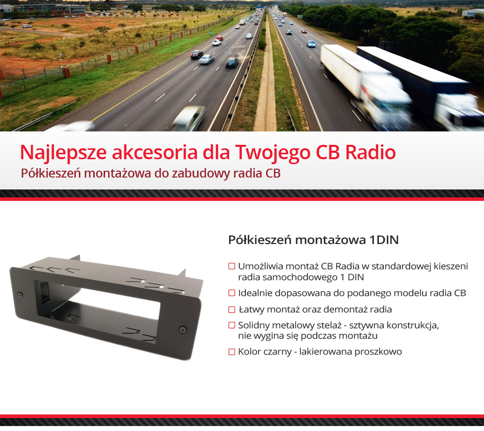 Mikrofon do CB Radio 6 PIN